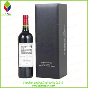 High-End Gift Paper Packaging Wine Box