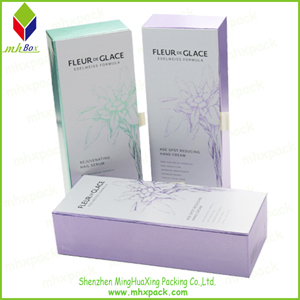 Folding Cardboard Cosmetic Packaging Box