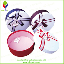 Round Gift Packaging Candle Paper Box