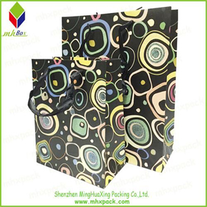 New Fashion Packing Travel Paper Bag