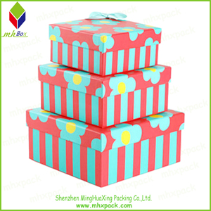 Customized Size Color Printing Gift Paper Box