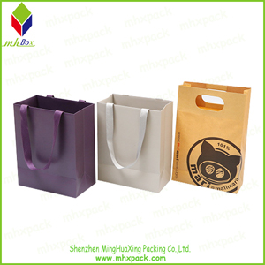 Luxury Packaging Paper Cosmetic Gift Bag