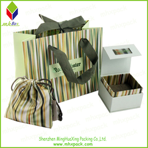 New Fashion Set Jewelry Packing Paper Gift Bag