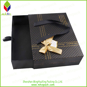 Slide Open Packing Paper Gift Shirt Box