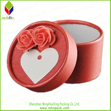 Paper Round Packing Candy Gift Box for Wedding