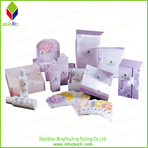 Set Cosmetic Packaging Cardboard Box