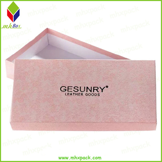 Custom Debossed Embossed Logo Lid and Base Packaging Gift Box