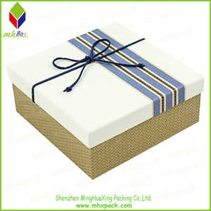Delicate Gift Packaging Paper Box with Butterfly