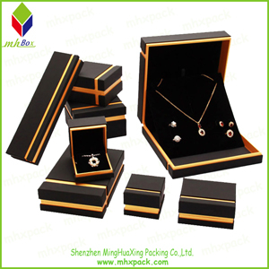 Gold Stamping Set Jewelry Packaging Gift Box