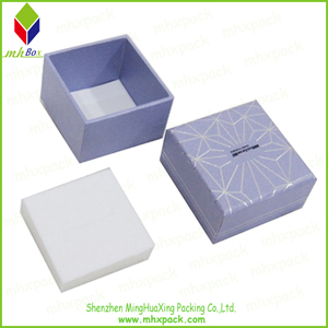 High-End Square Paper Jewelry Packing Box