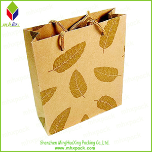 New Product Kraft Paper packing Gift Shopping Bag