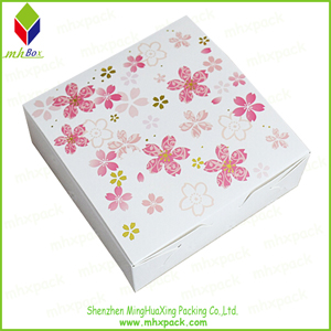 Delicate Folding Gift Packaging Paper Box