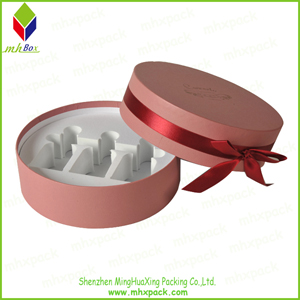 Paper Round Packaging Gift Perfume Box