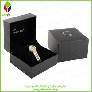 High End Clamshell Packing Jewelry Box for Watch