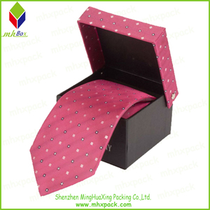 Rigid Paper Gift Folding Box for Tie