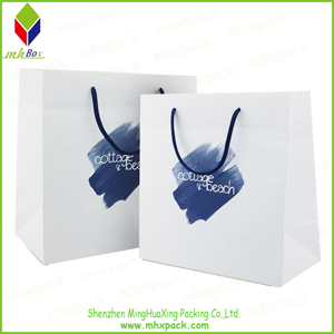Elegant Customized Printing Shopping Paper Bag