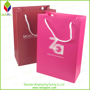 Luxury Paper Packing Gift Cosmetic Bag
