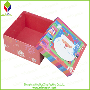 wonderful Packing Paper Rigid Santa Box
