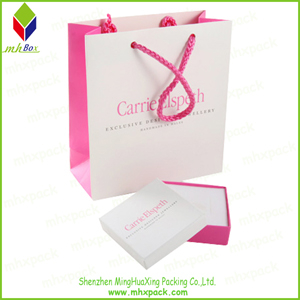Promotional packaging Paper Cosmeti Bag