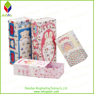 Colorful Printing Drawer Paper Gift Box