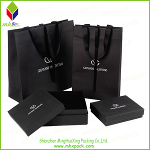Luxury Paper Cosmetic Packing Gift Bag