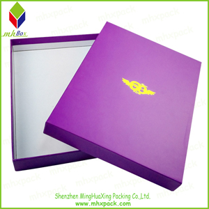 Gift Packaging Box with Hot Stamping Printing