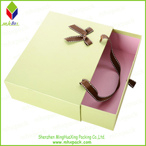 Portable Slide Packing Paper Gift Box