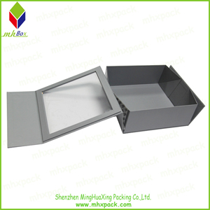 PVC Window Magnetic Packaging Folding Box