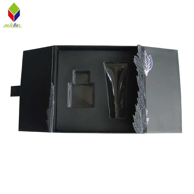 Custom Cosmetic Gift Boxes Clamshell Packaging Paper Box